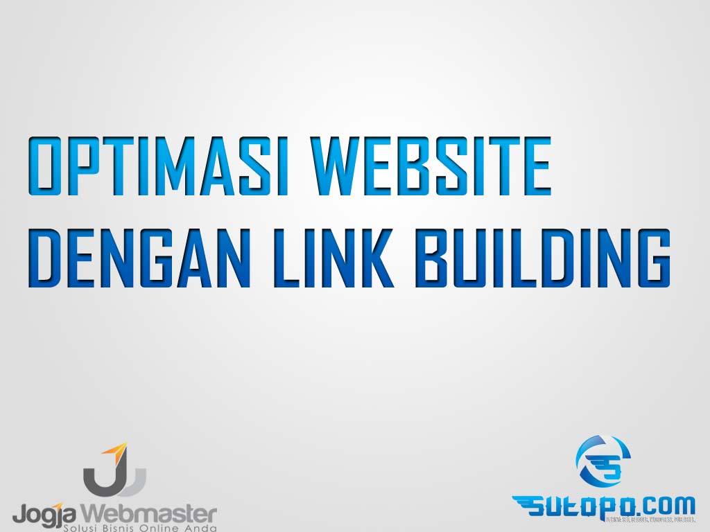 Optimasi website link building