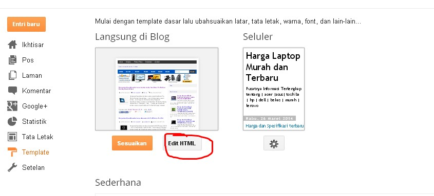 how to add meta tag in blogger post