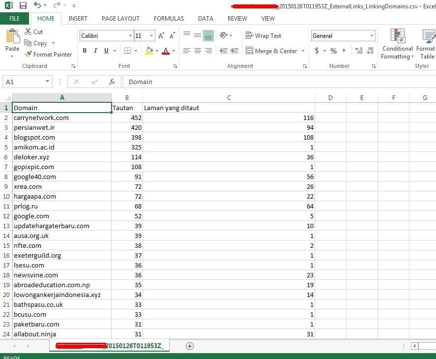 Daftar Backlink webmaster