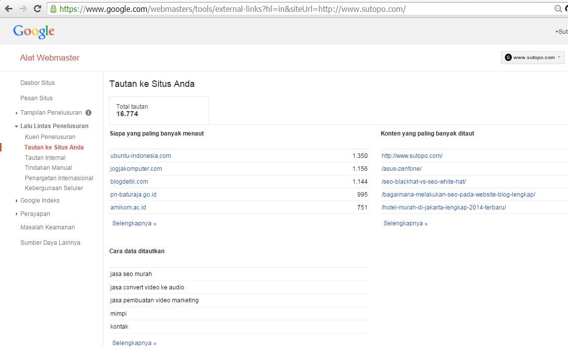 Google webmaster Indonesia