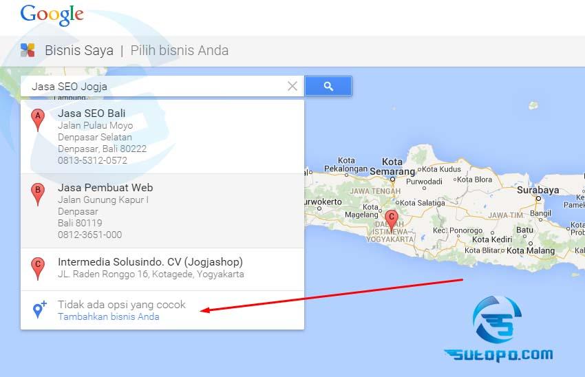 Daftar Google Local Bisnis