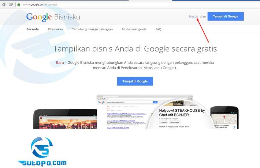 Google Local Bisnis