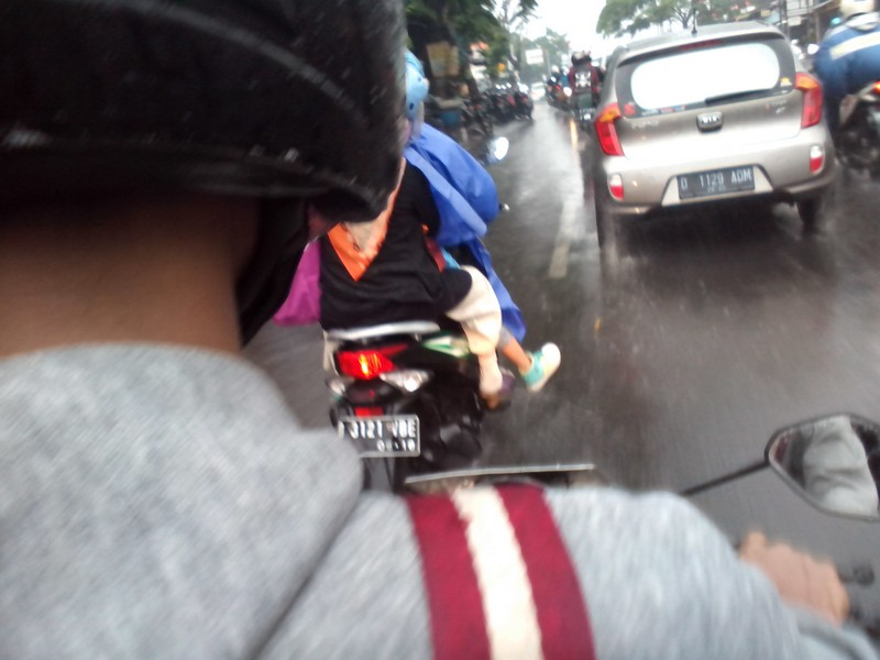 Hujan macet bandung