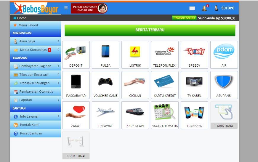 Pembayaran Online Terlengkap