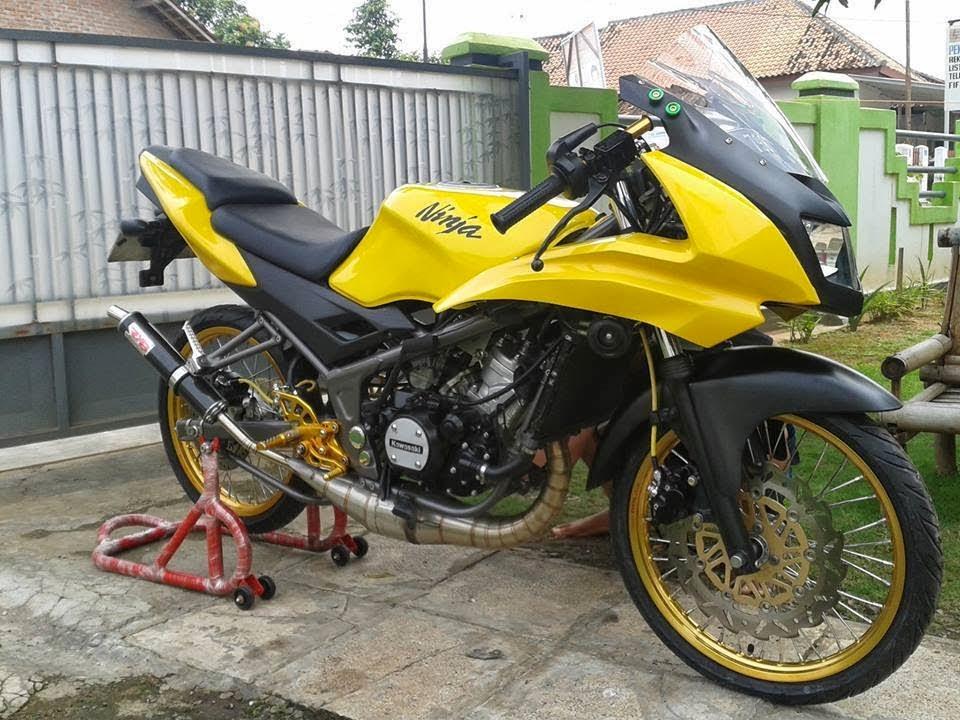 Modifikasi Kawasaki Ninja Rr Velg Jari Jari Terbaru Keren