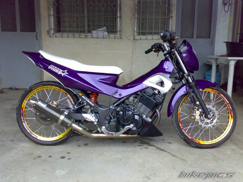 Modifikasi FU Satria Road Race