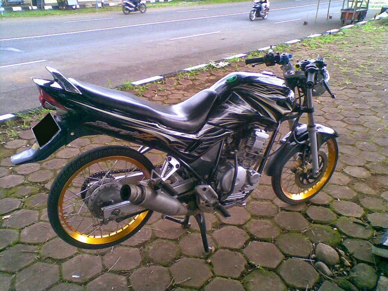 Modifikasi Motor Yamaha Scorpio Z Ring