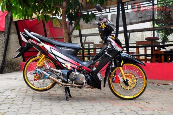 Modifikasi Motor Honda Supra X 125 Terbaru Keren Sutopo Sasuke