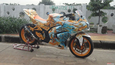 Modifikasi-Ninja-250-airbrush