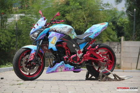 Modifikasi-Ninja-z800-naked