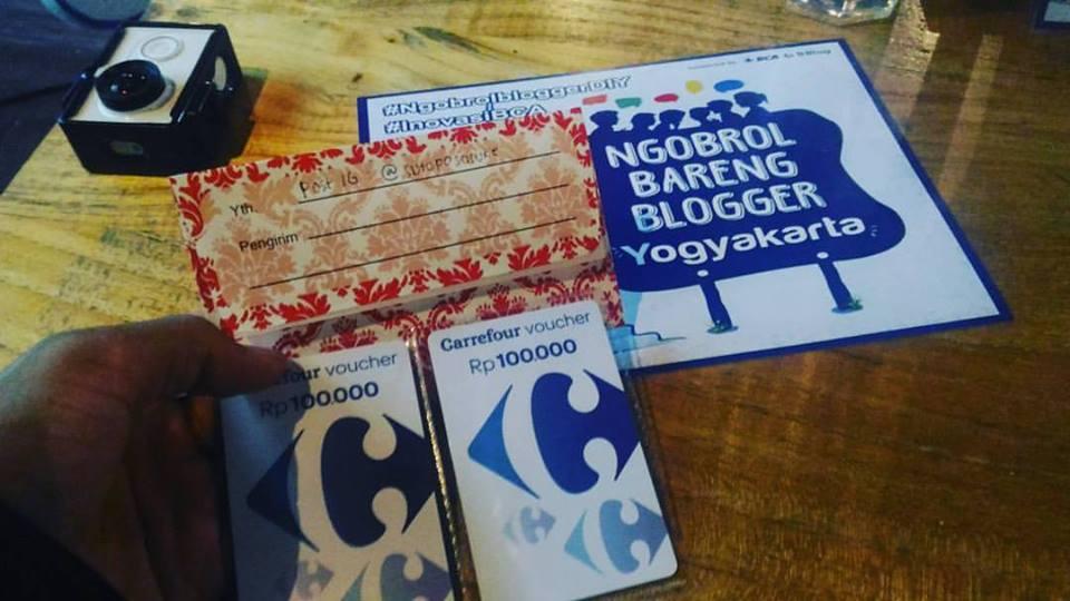 Menang Kontes Blog