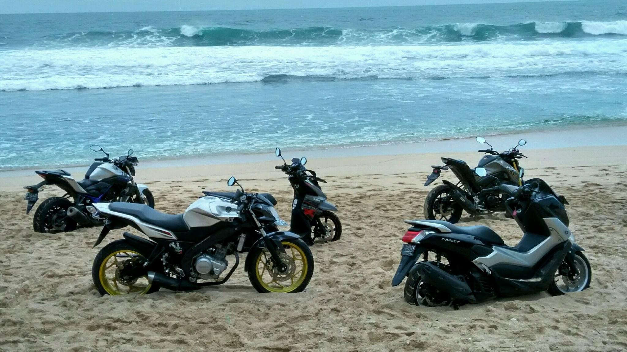 Touring Yamaha Jogja Pantai Sepanjang