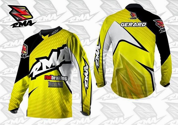 Custom Jersey Motocross Junior